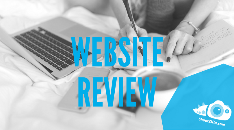 website review for photographers