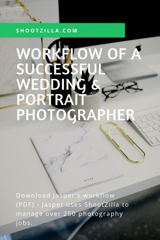 workflow successful portrait photographer