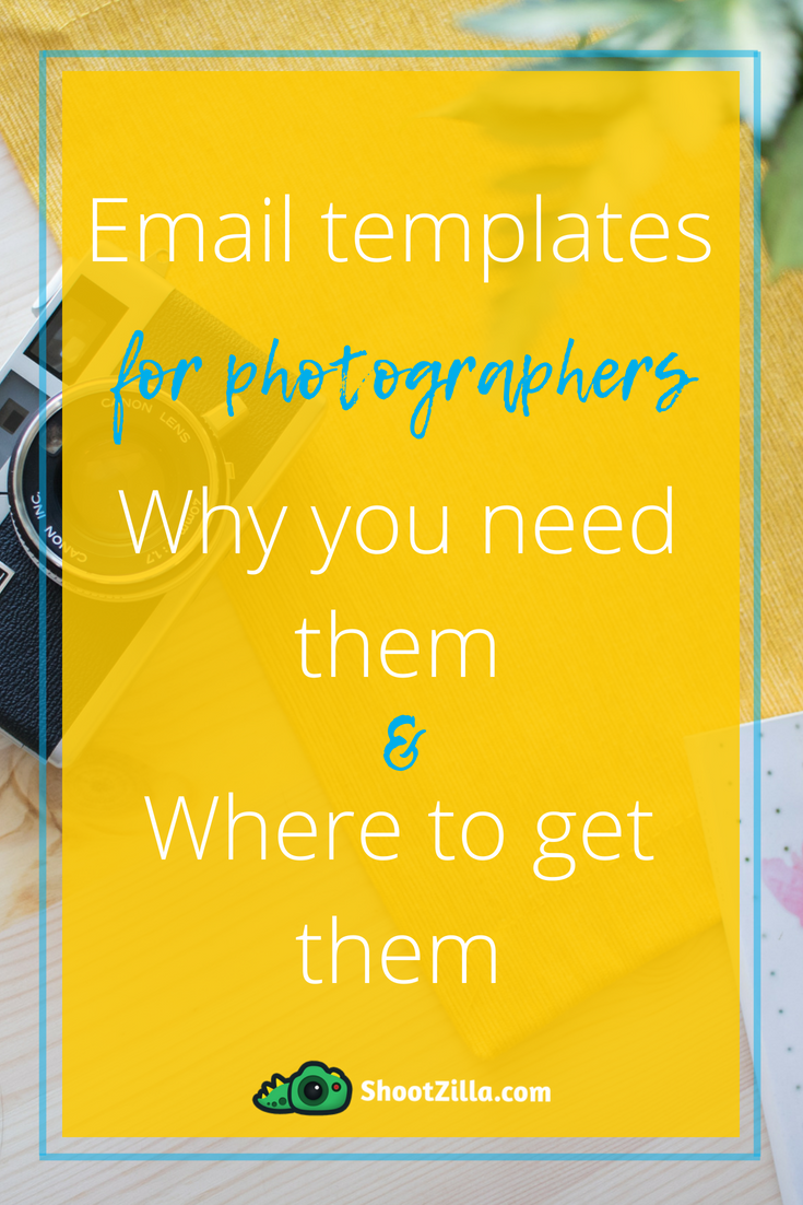 Free Photographer Email Templates] Best Time Saver in Your Business