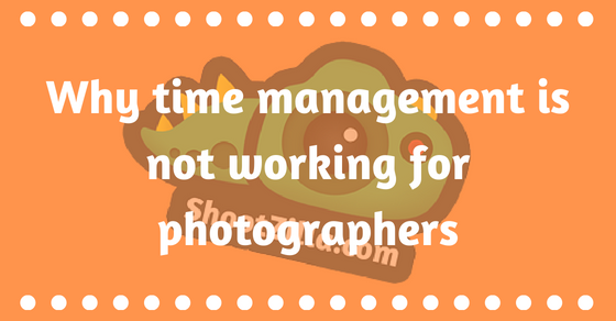 time management photographers