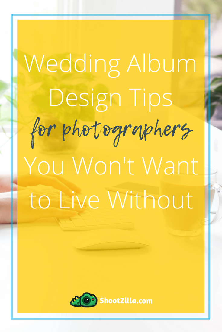 wedding album design tips